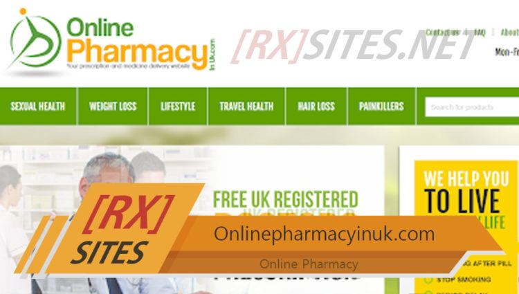 Onlinepharmacyinuk.com Review - A Pharmacy that Delivers Only in the EU