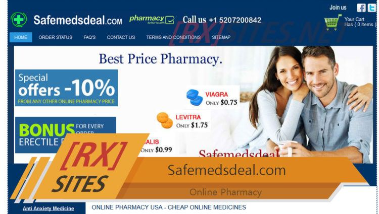 Safemedsdeal.com Review – Could've Been a Good Place for Purchasing Meds