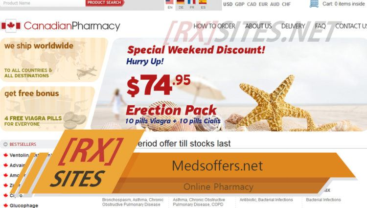 Medsoffers.net Review - Virtual Affiliate Pharmacy with no Reviews