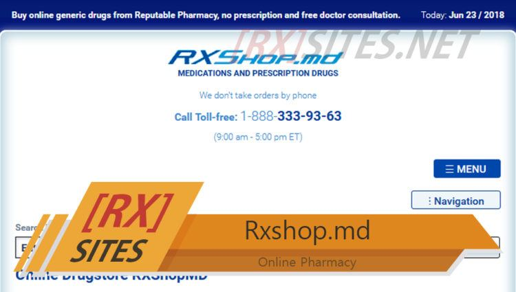 Rxshop.md Review: Get Your Prescription Drugs on Time