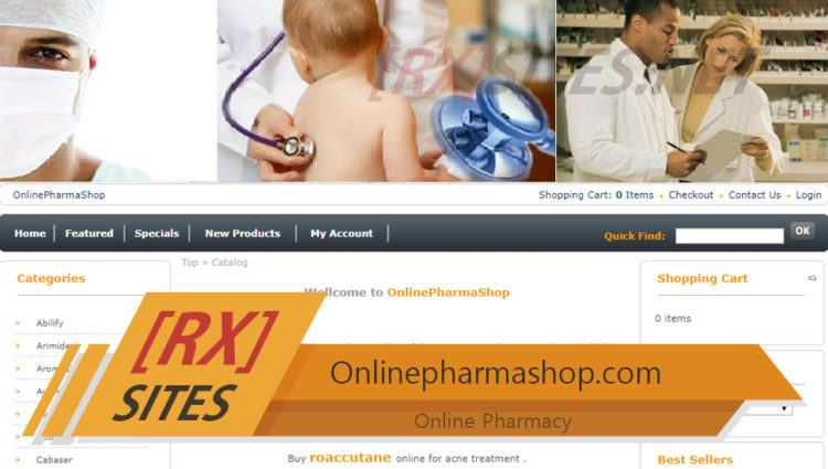 Onlinepharmashop.com Review – A Pharmacy with a Low Likelihood of Being Safe