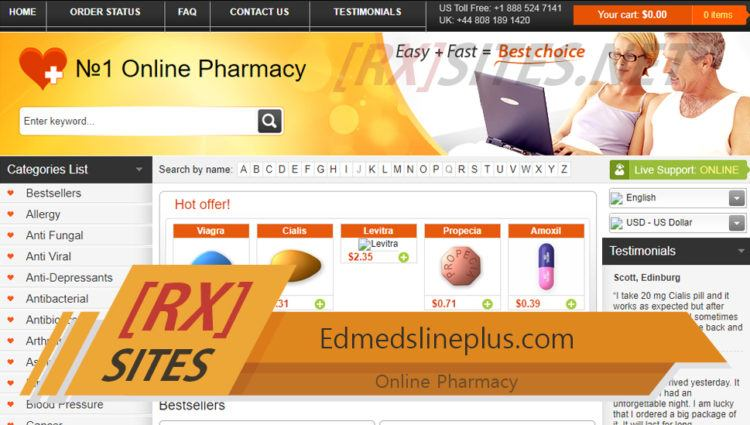 Edmedslineplus.Com Review – An Affordable Pharmacy Closed