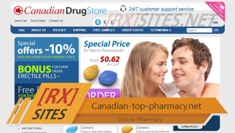 Canadian-top-pharmacy.net Review – A Pharmacy that Provided Good Alternatives