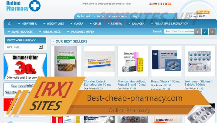 Best-cheap-pharmacy.com Review - Online Pharmacy Not Asking for Prescription