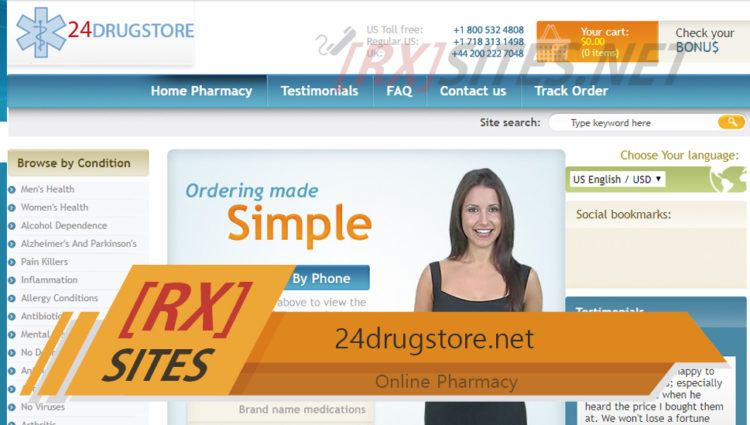 24drugstore.net Review – Closed Canadian Vendor Offering Fair Prices and a Huge Catalog