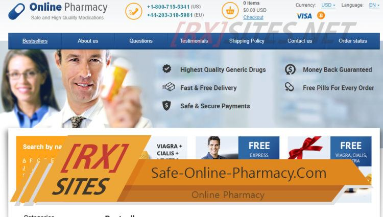 Safe-Online-Pharmacy.Com Review – A Closed Canadian Online Pharmacy