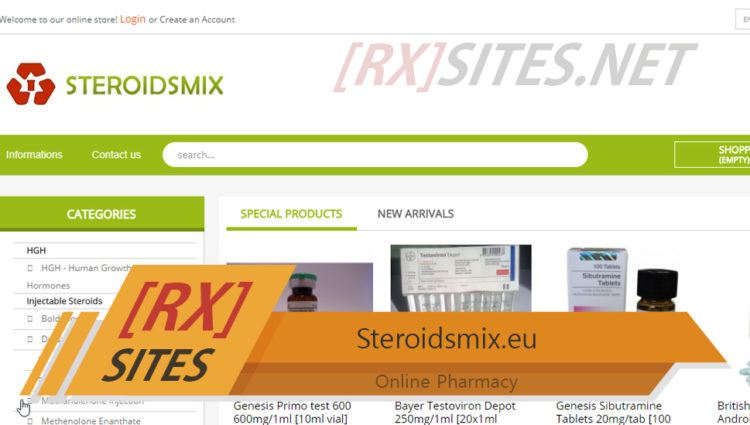 Steroidsmix.eu Review – A Seized Steroid Seller with Recommendations from Customers