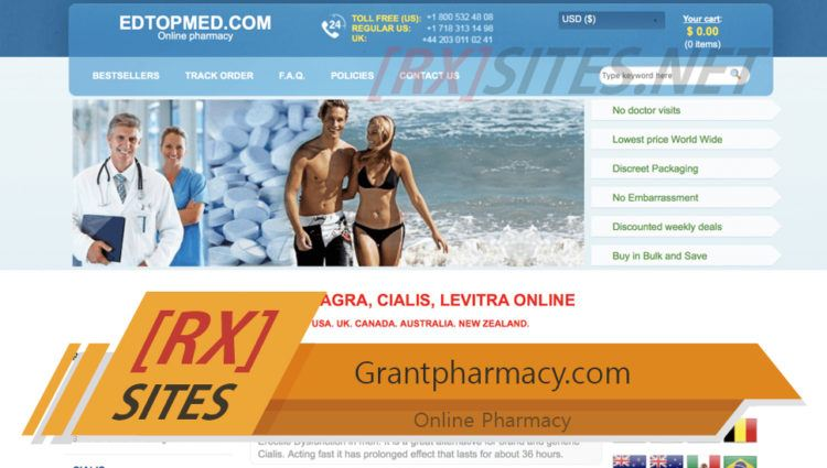 Grantpharmacy.com Review – Had Mixed Receptions from its Former Clients