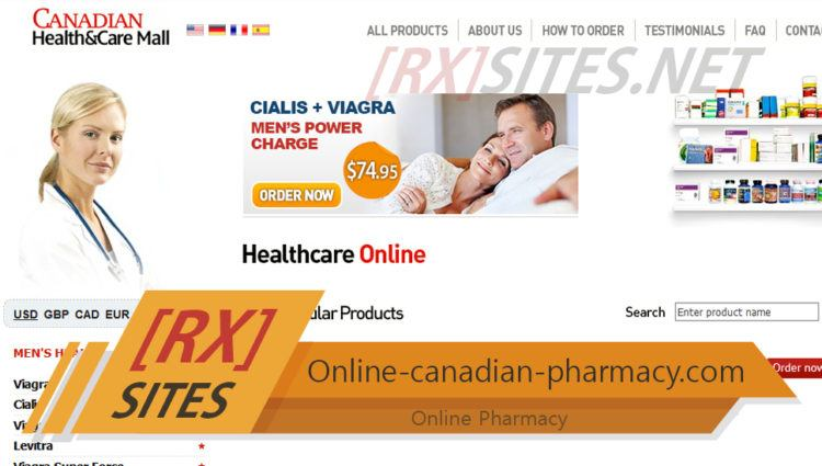 Online-canadian-pharmacy.com Review – Where Has This Shop Gone?
