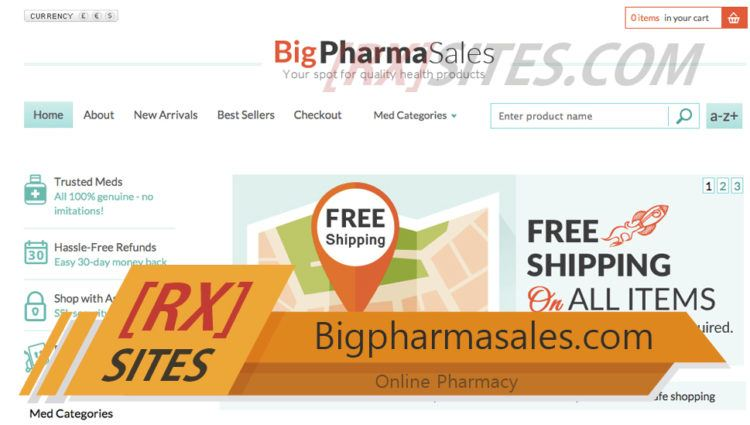 Bigpharmasales.com Review – A Shop Without Much Online Information
