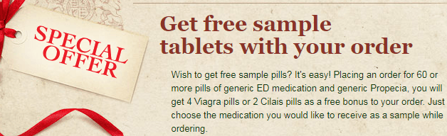 Free ED Sample Pills from Generics-from-india-online